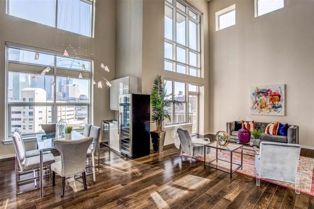 2323 N Houston Street #710, Dallas, TX 75219 (MLS #14241092) :: Results Property Group