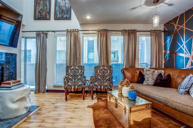 4130 Newton Avenue G, Dallas, TX 75219 (MLS #14241288) :: RE/MAX Landmark