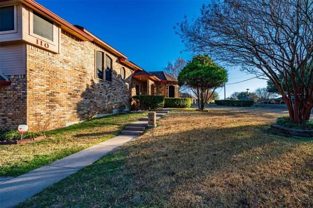 110 Ridge Crest Drive, Red Oak, TX 75154 (MLS #14241578) :: HergGroup Dallas-Fort Worth
