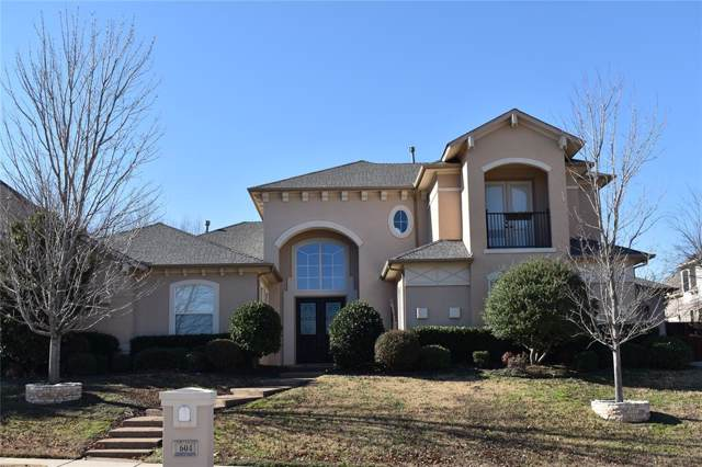 604 Burnet Drive, Keller, TX 76248 (MLS #14241595) :: Tenesha Lusk Realty Group