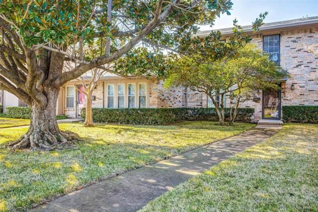 10617 Stone Canyon Road #28, Dallas, TX 75230 (MLS #14241618) :: Robbins Real Estate Group