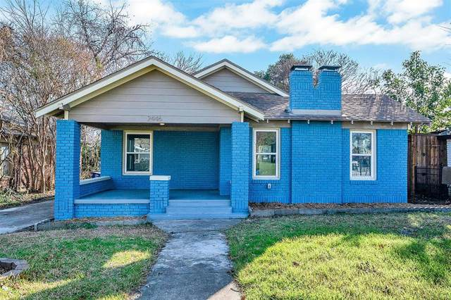 2446 Emmett Street, Dallas, TX 75211 (MLS #14241647) :: RE/MAX Town & Country