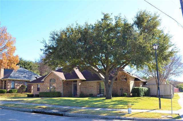 1235 Pawnee Trail, Carrollton, TX 75007 (MLS #14241648) :: The Tierny Jordan Network