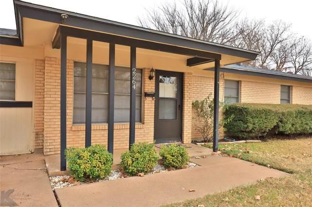 2264 S 35th Street, Abilene, TX 79605 (MLS #14241650) :: North Texas Team | RE/MAX Lifestyle Property