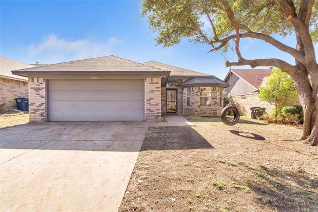 5821 Stone Meadow Lane, Fort Worth, TX 76179 (MLS #14241671) :: All Cities Realty