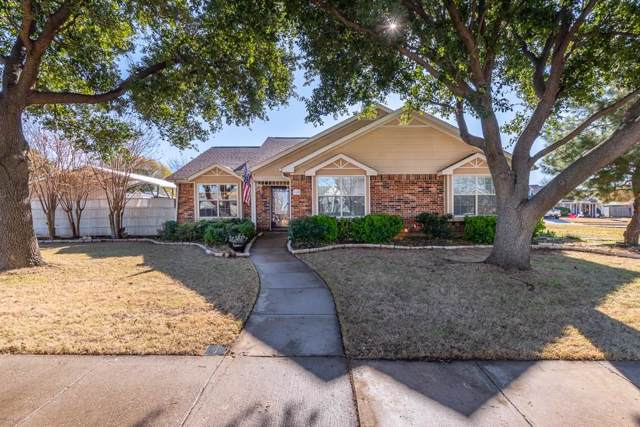1628 Rocky Point Drive, Lewisville, TX 75077 (MLS #14241702) :: Hargrove Realty Group