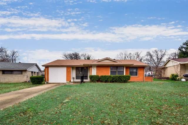 4640 Sandra Lynn Drive, Mesquite, TX 75150 (MLS #14241722) :: The Kimberly Davis Group
