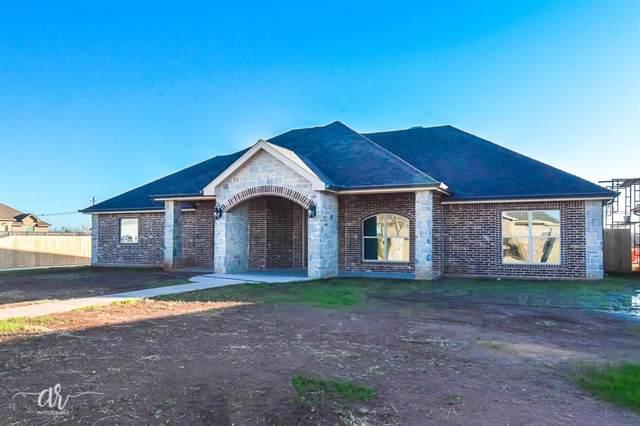 109 Wrangler Circle, Tuscola, TX 79562 (MLS #14241753) :: All Cities Realty