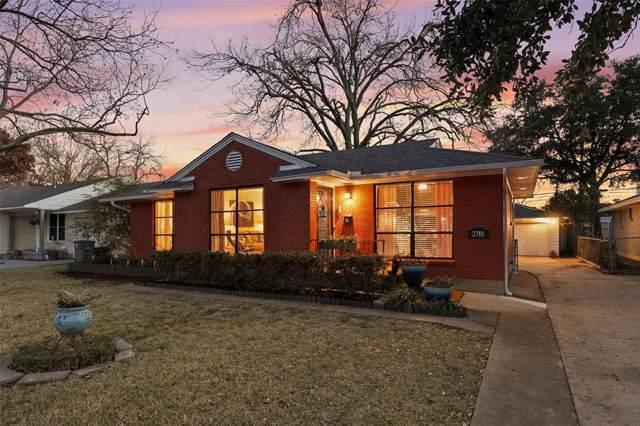 2318 Dunloe Avenue, Dallas, TX 75228 (MLS #14241815) :: The Mitchell Group