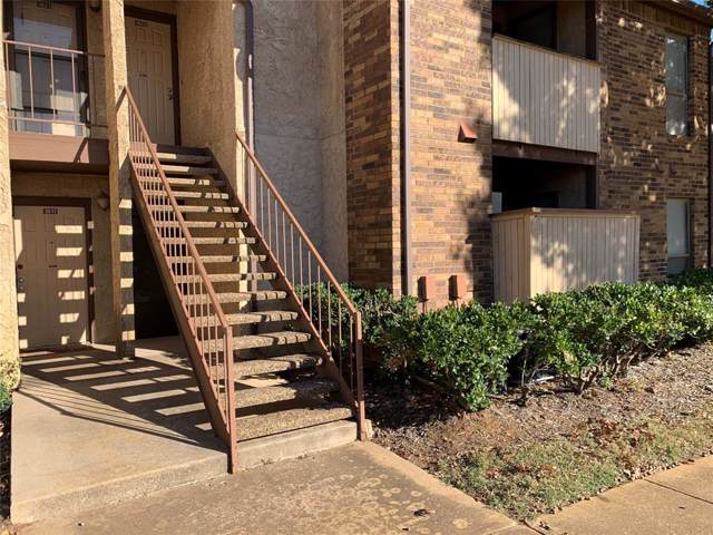 1105 Calico Lane #1612, Arlington, TX 76011 (MLS #14241848) :: The Hornburg Real Estate Group