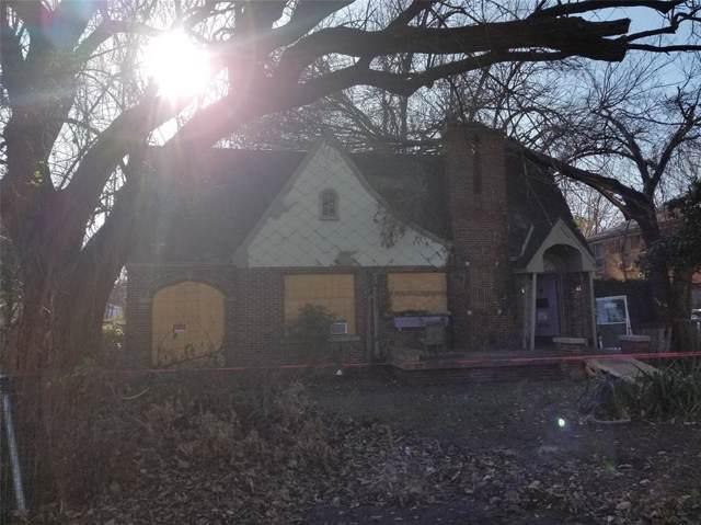 5203 Cedar Springs Road, Dallas, TX 75235 (MLS #14241865) :: The Heyl Group at Keller Williams