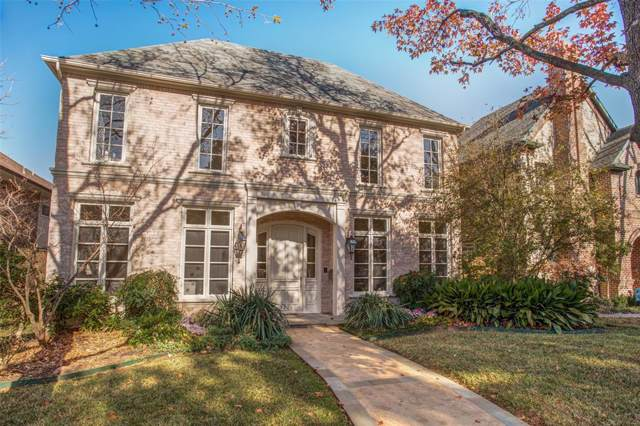 3136 Westminster Avenue, University Park, TX 75205 (MLS #14242000) :: The Mitchell Group