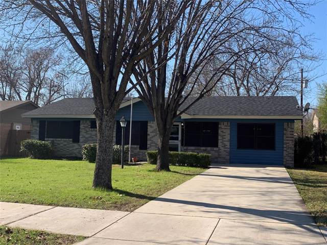 925 Moore Drive, Mesquite, TX 75149 (MLS #14242237) :: RE/MAX Town & Country