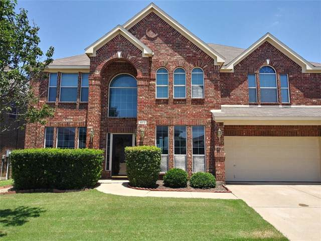 4812 Grapevine Terrace, Fort Worth, TX 76123 (MLS #14242300) :: Tenesha Lusk Realty Group