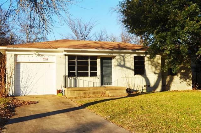 2523 Gross Road, Dallas, TX 75228 (MLS #14242311) :: Real Estate By Design