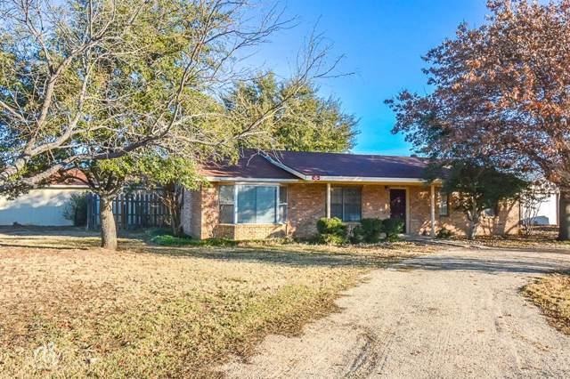22 Alamo Drive, Tuscola, TX 79562 (MLS #14242337) :: Baldree Home Team