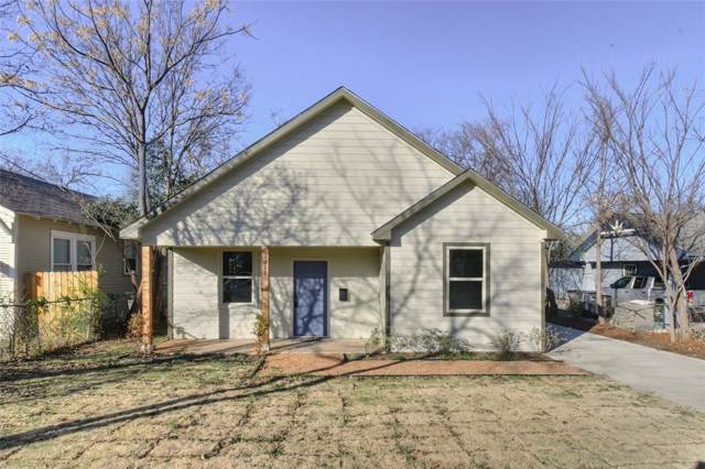 1327 E Jefferson Avenue, Fort Worth, TX 76104 (MLS #14242387) :: Trinity Premier Properties