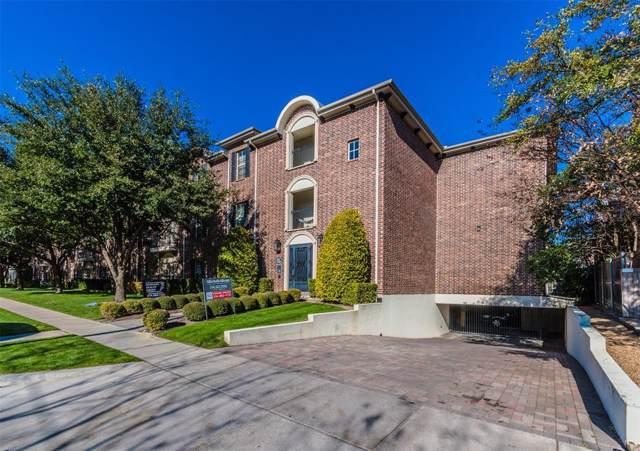 3116 Rosedale Avenue #207, University Park, TX 75205 (MLS #14242431) :: Robbins Real Estate Group