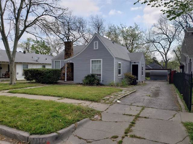 2116 Loving Avenue, Fort Worth, TX 76164 (MLS #14242459) :: Roberts Real Estate Group