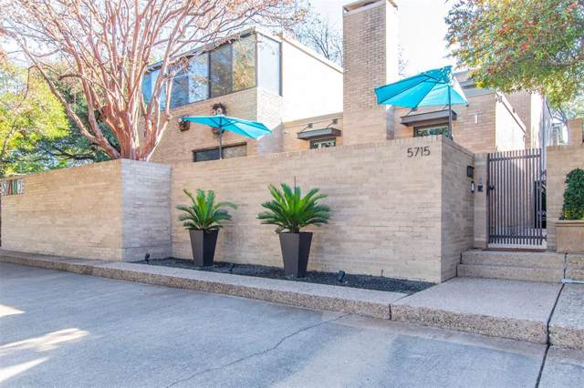 5715 Pershing Avenue, Fort Worth, TX 76107 (MLS #14242479) :: Trinity Premier Properties