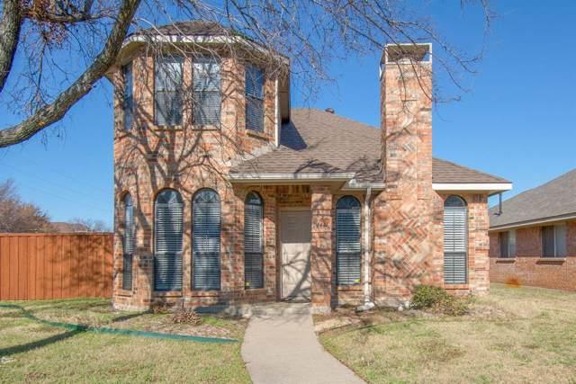 1441 Stella, Lewisville, TX 75067 (MLS #14242542) :: Trinity Premier Properties