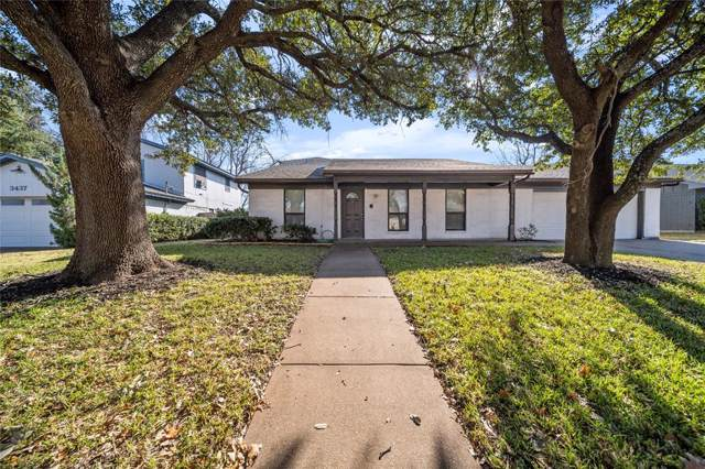3501 Kelvin Avenue, Fort Worth, TX 76133 (MLS #14242554) :: Real Estate By Design