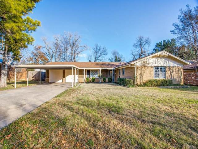 2105 Shelman Trail, Fort Worth, TX 76112 (MLS #14242602) :: Trinity Premier Properties