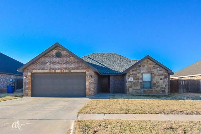 3434 Firedog Road, Abilene, TX 79606 (MLS #14243291) :: Potts Realty Group