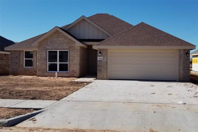 7374 Connor Road, Abilene, TX 79602 (MLS #14243684) :: Ann Carr Real Estate