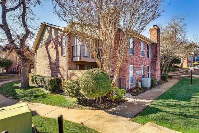 7510 Holly Hill Drive #142, Dallas, TX 75231 (MLS #14244167) :: The Hornburg Real Estate Group