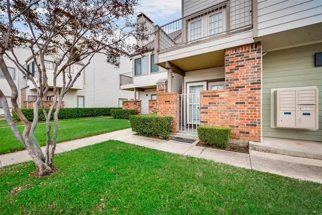 3129 Sondra Drive #107, Fort Worth, TX 76107 (MLS #14244433) :: RE/MAX Landmark
