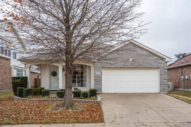 2744 Red Wolf Drive, Fort Worth, TX 76244 (MLS #14244909) :: Tenesha Lusk Realty Group