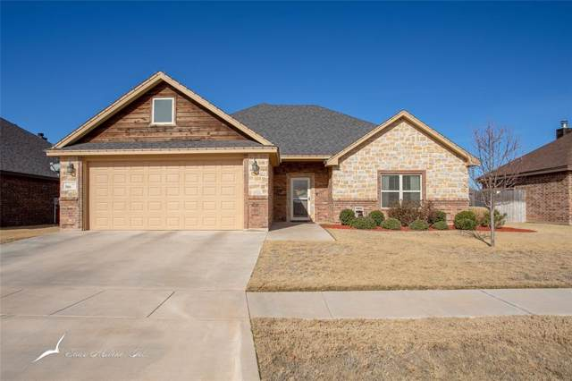 366 Buffalo Springs Drive, Abilene, TX 79602 (MLS #14245432) :: The Chad Smith Team