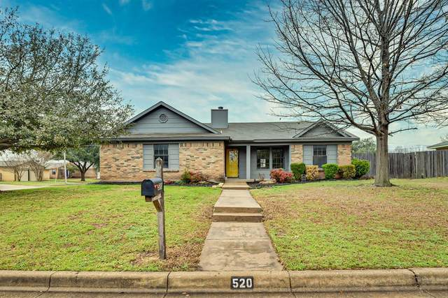 520 Post Oak Lane, Burleson, TX 76028 (MLS #14246000) :: The Paula Jones Team | RE/MAX of Abilene