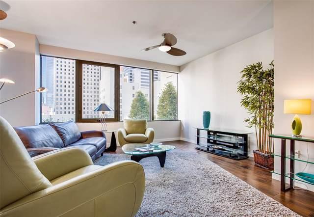 1200 Main Street #709, Dallas, TX 75202 (MLS #14246295) :: The Hornburg Real Estate Group