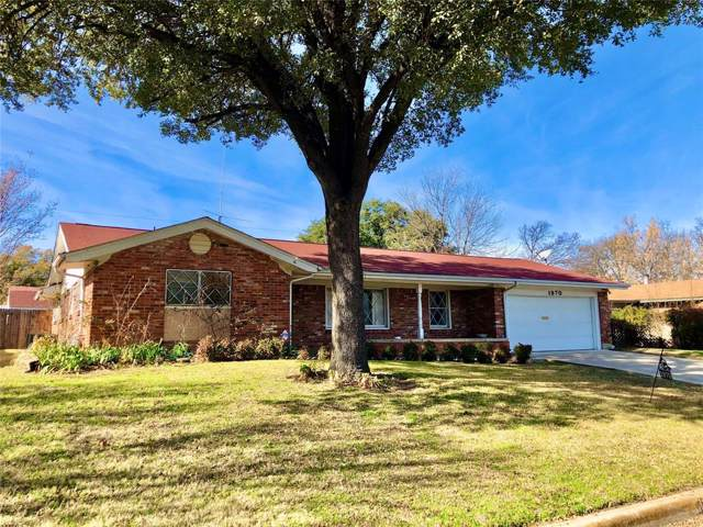 1970 Mims Street, Fort Worth, TX 76112 (MLS #14246317) :: NewHomePrograms.com LLC