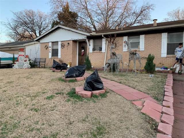 2122 E Mitchell Street, Arlington, TX 76010 (MLS #14246374) :: RE/MAX Pinnacle Group REALTORS