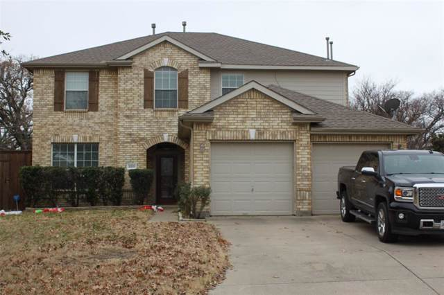 2011 Sharpsbury Drive, Euless, TX 76040 (MLS #14246732) :: EXIT Realty Elite