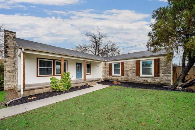 4053 Winfield Avenue, Fort Worth, TX 76109 (MLS #14246736) :: Team Tiller