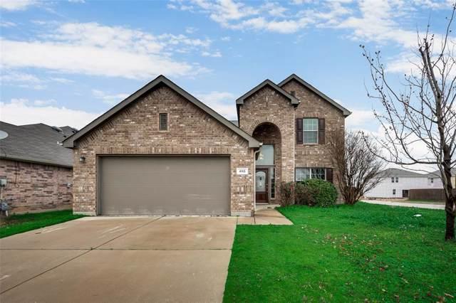 480 Paddle Drive, Crowley, TX 76036 (MLS #14250049) :: Century 21 Judge Fite Company