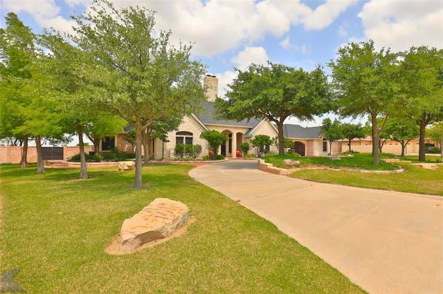 1208 Saddle Lakes Drive, Abilene, TX 79602 (MLS #14250251) :: The Good Home Team
