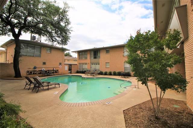 6148 Bandera Avenue 6148A, Dallas, TX 75225 (MLS #14250262) :: The Hornburg Real Estate Group