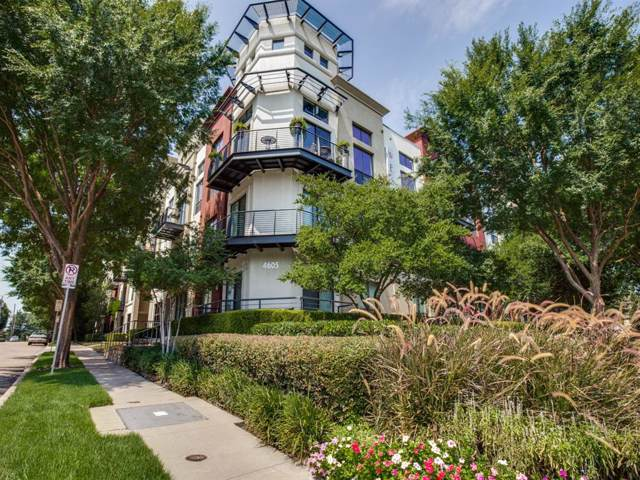 4605 Cedar Springs Road #221, Dallas, TX 75219 (MLS #14250359) :: Frankie Arthur Real Estate