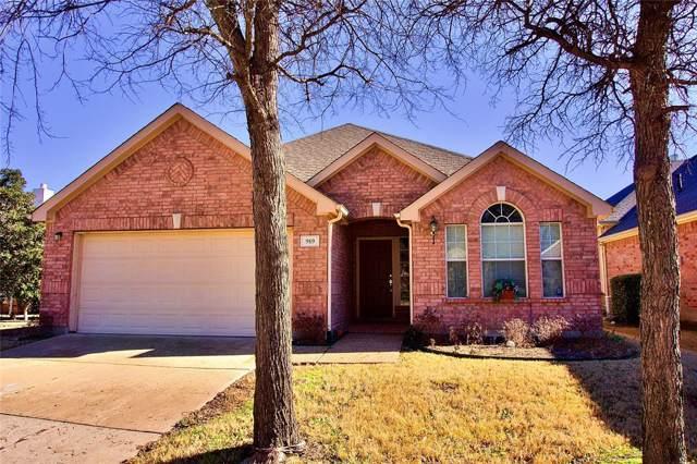 919 Medinah Drive, Fairview, TX 75069 (MLS #14250924) :: All Cities Realty
