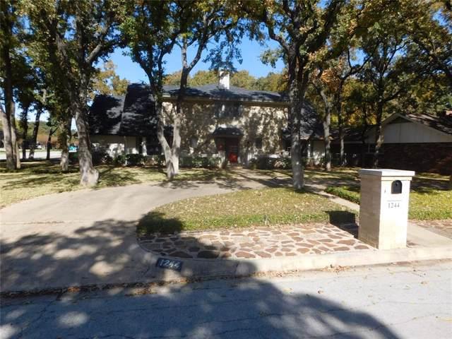 1244 Kathryn Street, Hurst, TX 76053 (MLS #14251038) :: Century 21 Judge Fite Company
