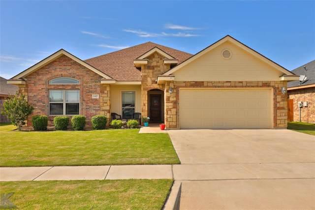 642 Swift Water Drive, Abilene, TX 79602 (MLS #14251114) :: The Chad Smith Team