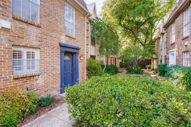 3627 Dickason Avenue 5H, Dallas, TX 75219 (MLS #14251135) :: RE/MAX Landmark