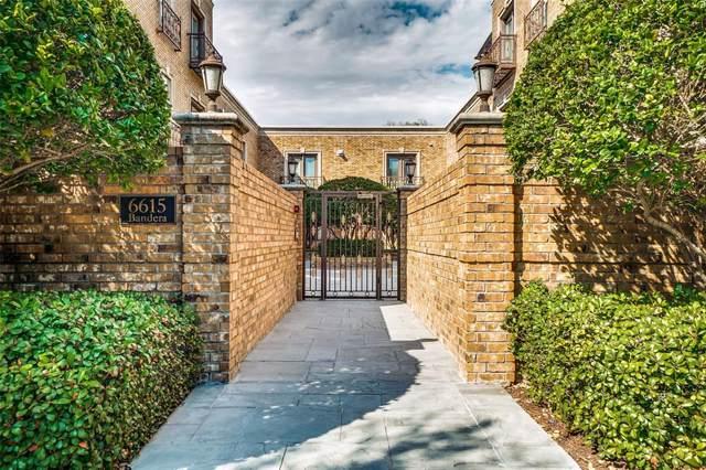 6615 Bandera Avenue 2C, Dallas, TX 75225 (MLS #14251189) :: Century 21 Judge Fite Company