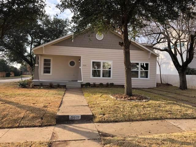 5601 Pershing Avenue, Fort Worth, TX 76107 (MLS #14251232) :: Frankie Arthur Real Estate