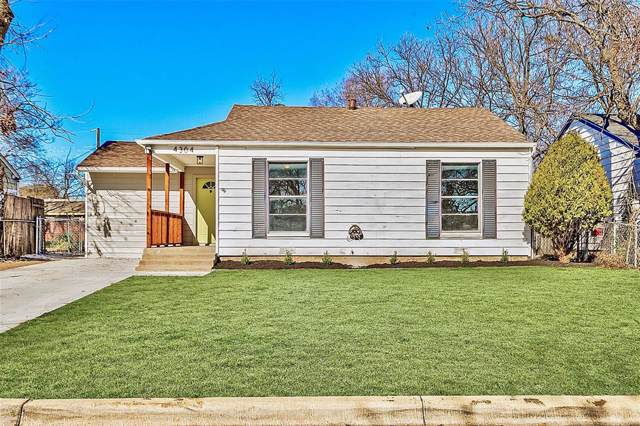 4304 Valentine Street, Fort Worth, TX 76107 (MLS #14251253) :: The Mitchell Group